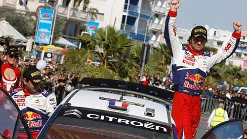 Loeb y su Citroen C4 WRC