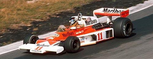 McLaren M23 de James Hunt