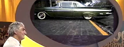 Así quedó el Impala 59 de Santiago Montoya. - Captura de TV.
