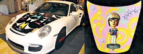 El Porsche 911 GT2 de Jorge Gómez.