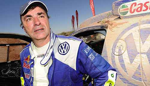 Carlos Sainz quiere estar en el Dakar 2010.