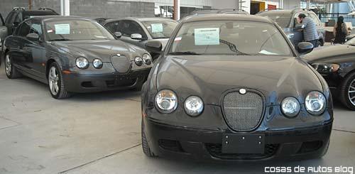 Uno de los Jaguar S Type R que Ford subastará el 20 de abril.