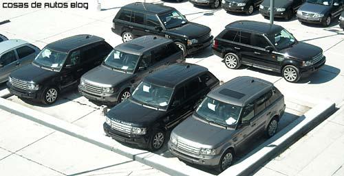 Las Range Rover 2008 esperan dueño.