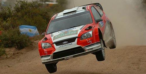 Vuela Federico Villagra, cuarto en el WRC.