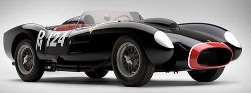 Ferrari Testa Rossa de 1957. Foto: Supercars.net