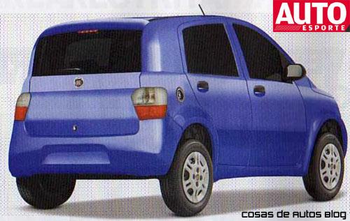Especulación del Nuevo Fiat Uno por AutoEsporte.