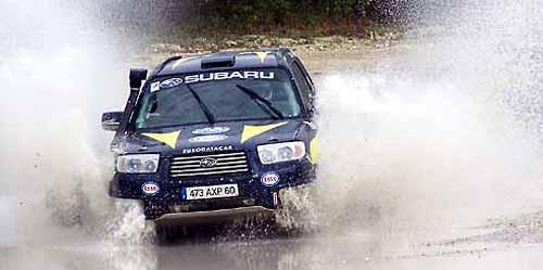Subaru Forester de Dakar.