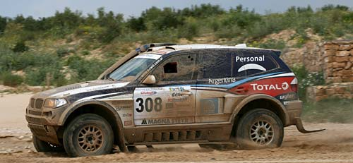 Orly Terranova ganó el rally de Tunez 2009