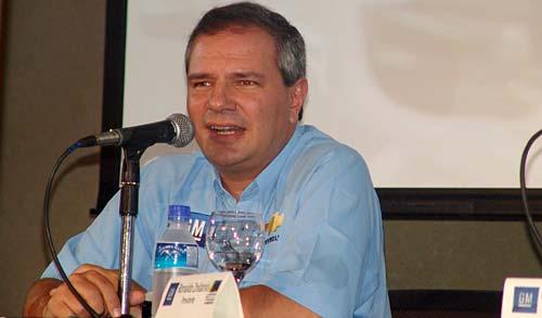 Ronaldo Znidarsis, presidente de General Motors Venezolana.