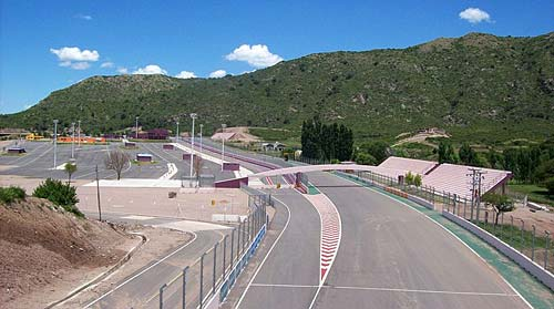 Autódromo de Potrero de los Funes, San Luis. Foto: Wikipedia.