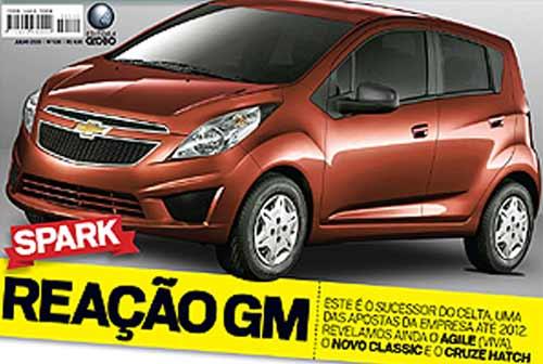 Chevrolet Spark 2012 - Recreación: AutoEsporte