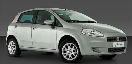 Fiat Punto con motor turbodiesel Multijet