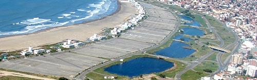 Zona de Punta Mogotes, Mar del Plata.