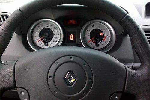 Renault Mégane 2010 interior.
