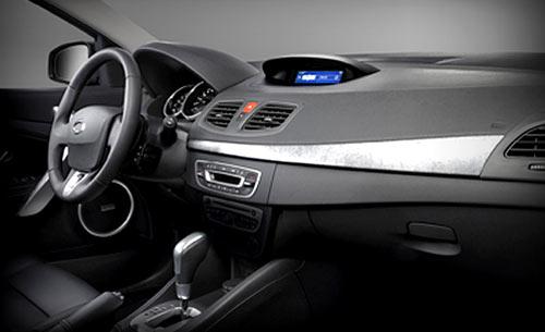 Interior del Samsung SM3, el modelo que serviría de base para desarrollar el Mégane III.