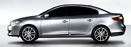 Samsung SM3, el modelo que serviría de base para desarrollar el Mégane III.