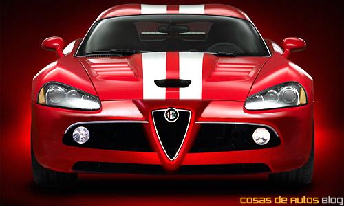 Alfa Romeo Viper - Recreación de Cosas de Autos Blog.
