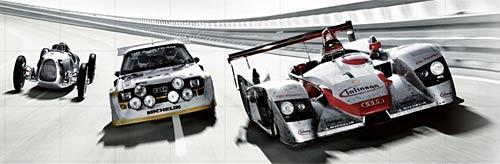 Audi 100 años