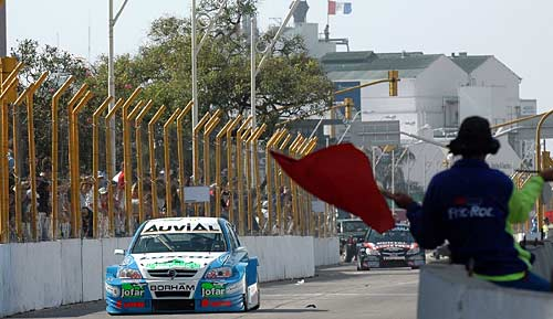 Circuito callejero de Santa Fe en 2008 - Foto: TC2000.COM.AR