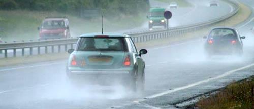 Seguridad vial: consejos a tener en cuenta los días de lluvia
