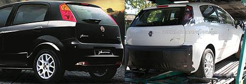 Cambios exteriores en el Fiat Punto - Foto: World Car Fans - Comparación: Cosas de Autos Blog.