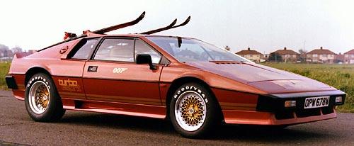 El Lotus Turbo Esprit subastado.