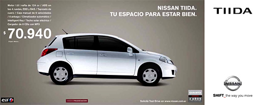 Nissan Tiida Promo de julio.