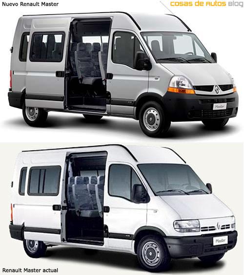 La Nueva Renault Master comparada con la actual.