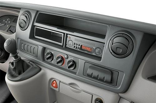 Interior de la Nueva Renault Master.