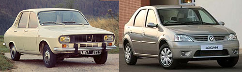 Renault 12 y Renault Logan