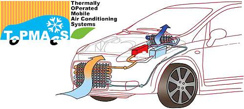 Proyecto Topmacs - Crean aire acondicionado a partir del calor del motor.