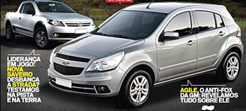 Chevrolet Agile, primera imagen oficial: Foto: Autosporte.