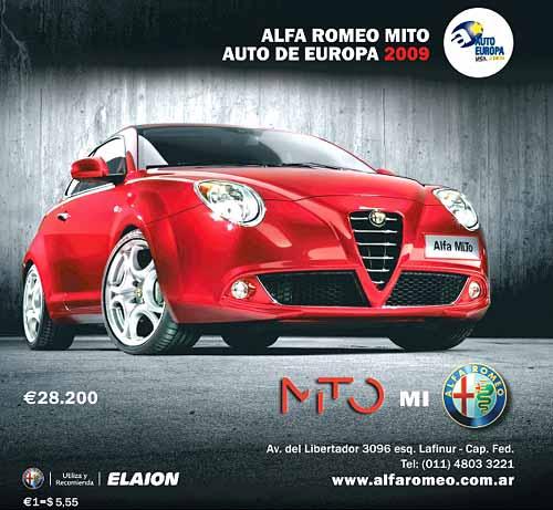 Alfa Romeo MiTo precio de 28.200 euros
