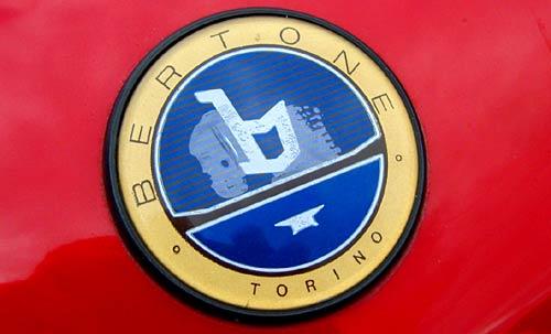 Viejo logo de Bertone