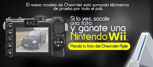 Concurso Chevrolet Agile