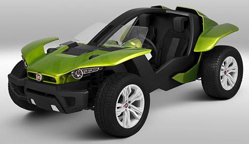 Prototipo FCII presentado en el Salón de San Pablo 2008.