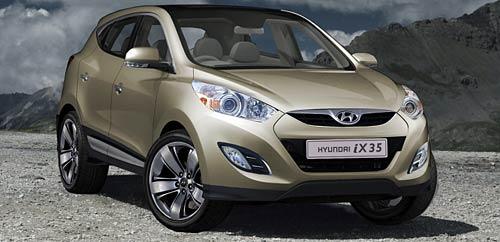 Así sería el Hyundai iX35.