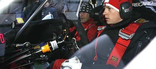 Raikkonen corre en Finlandia en WRC.