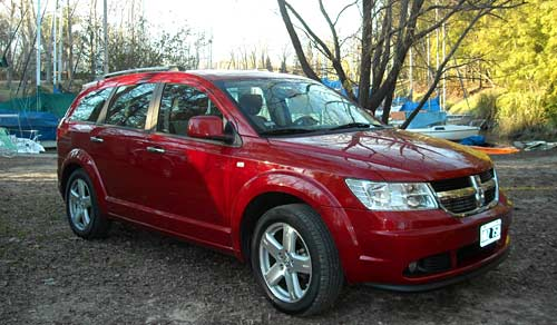 Test del Dodge Journey - Foto: Cosas de Autos Blog