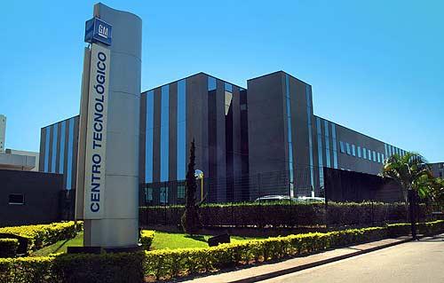 Vista del Centro Tecnológico de GM en Sao Caetano do Sul.