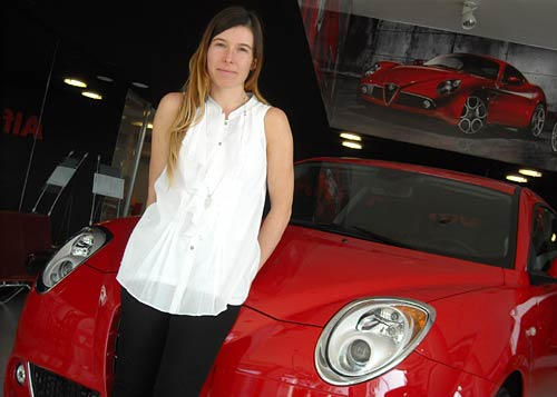 Carolina Belcastro, presidente de Centro Milano. Foto: Cosas de Autos.