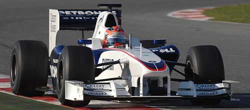 El BMW-Sauber de la temporada 2009
