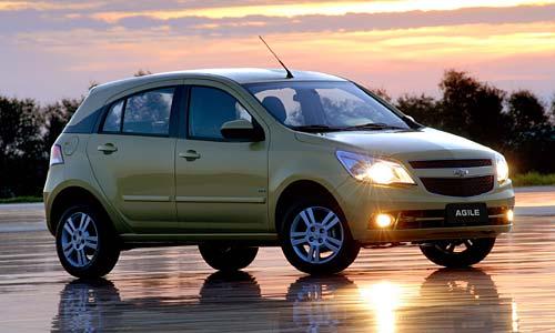 Chevrolet Agile - Fotos oficiales.