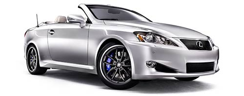 Lexus IS C convertible