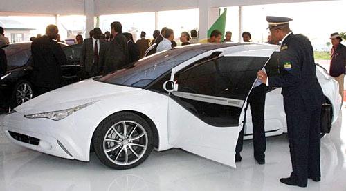 El Saroukh-Jamahiriya o Cohete libio de Gaddafi.