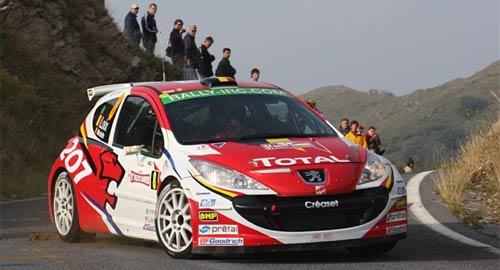 Peugeot 207RC del IRC.