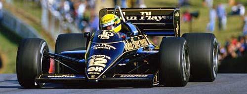 El recordado Lotus-Renault de Senna.