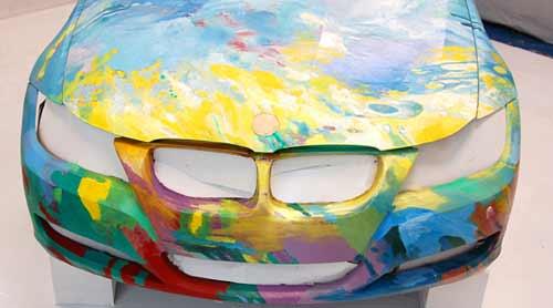 Cómo se hizo el BMW Art Car Colombia