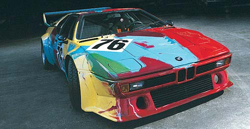 El BMW M1 intervenido por Andy Warhol