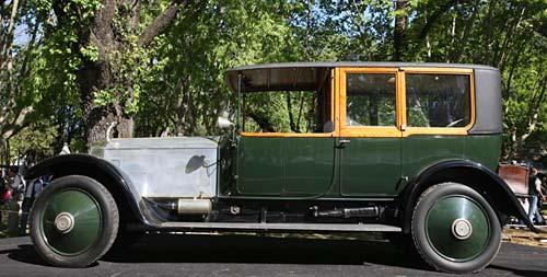 Best of Show 2009 se lo llevó un Rolls Royce Silver Ghost 1920.